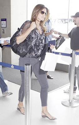 Cindy Crawford Flight