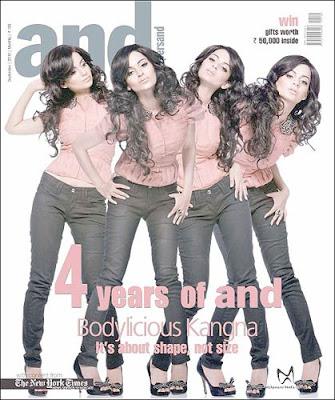Kangna Ranaut ANDpersand Magazine