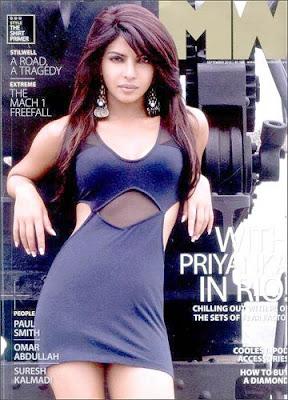 Priyanka Chopra Man's World Magazine