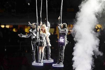 Fergie Bridgestone Super Bowl XLV