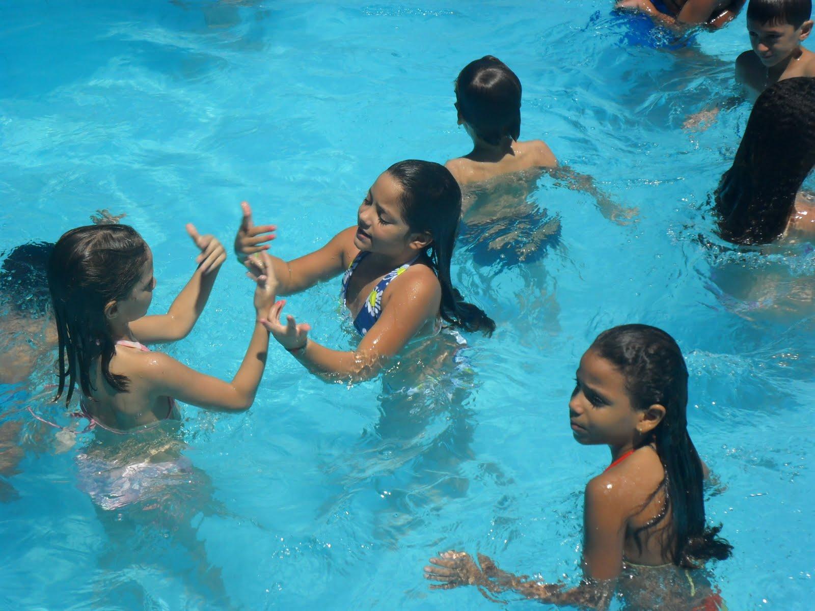 Festa Infantil na Piscina