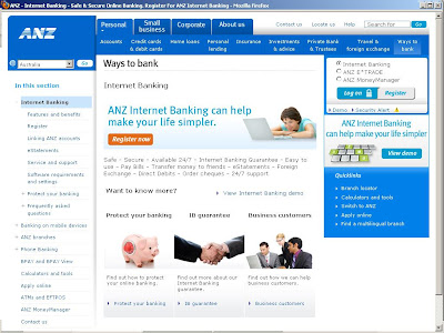 anz business online banking