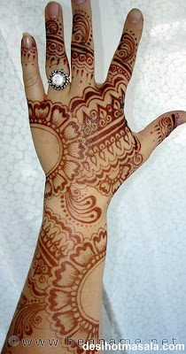 Karva Chauth Henna Designs Pictures