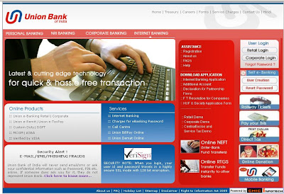 WWW.unionbankofindia.com - Union Bank of India internet banking unionbankofindia