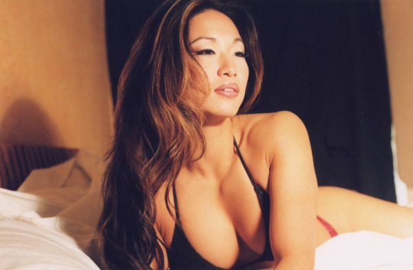 Another drop-dead-gorgeous pro wrestler, Gail Kim made a brief appearance in ...