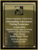 Hola Award 2009 La noche de Eva.