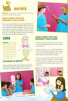 fol0004 SUGESTÕES DE ATIVIDADES COM AS LENDAS. para crianças