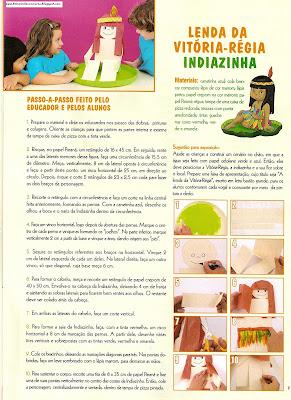 fol0001 SUGESTÕES DE ATIVIDADES COM AS LENDAS. para crianças