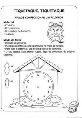 Alfabetizando%2Be%2BConstruindo%2BVol%2B3%2Bp%25C3%25A1g%2B99%5B1%5D Atividades de Matemática: Medidas de tempo. para crianças