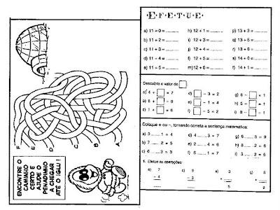 truck+1068 Atividades de Matemática: adição e subtração para crianças