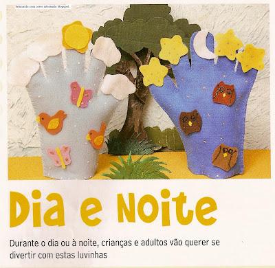 fantoche10005 Fantoche: Luvas de feltro. para crianças