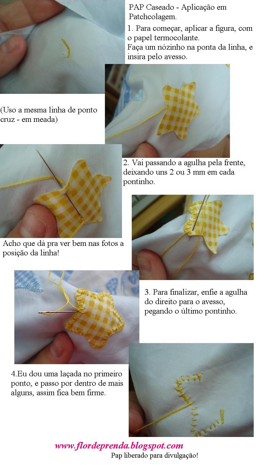 Populares Flor de Prenda: PAP Caseado ZV54