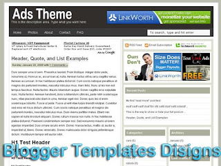 Theme Ads Theme Blogger Templates XML Web 2.0