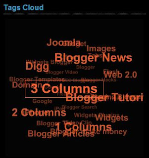 How to Add flash Animated label cloud Blogumus for Blogger