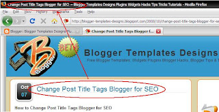How to Change Post Title Tags Blogger for SEO