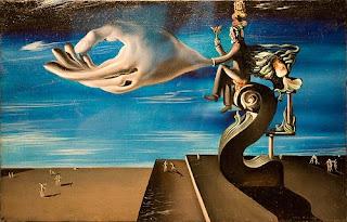 Salvador Dali Paintings Famous Head Crutch