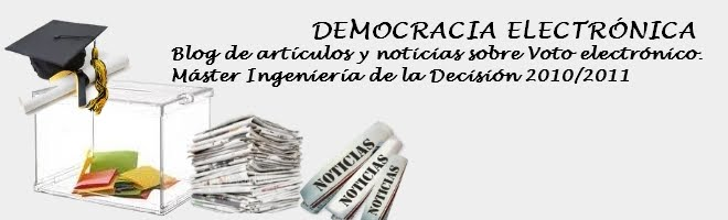 Democracia Electrónica
