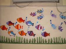 painel de peixinhos