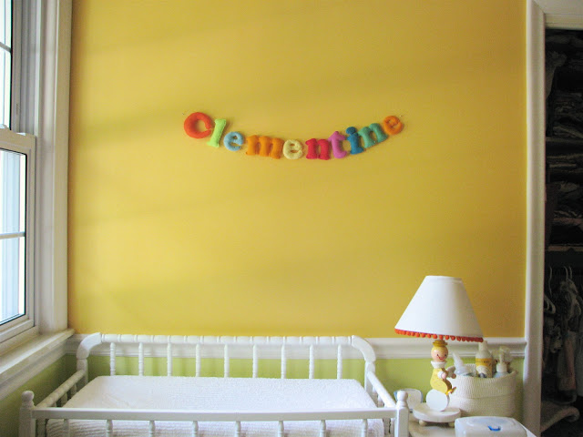 DIY Name & Lettering Projects for Baby