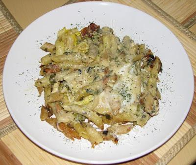 Rețetă: Paste sărate cu lapte și legume