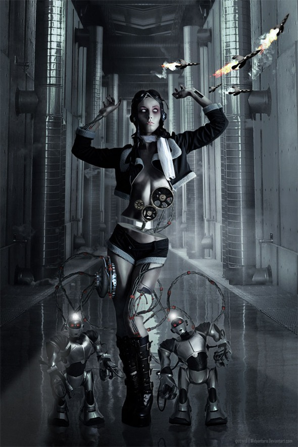 IT'S PARTY TIME......: Human Robots-Vision of the Future...