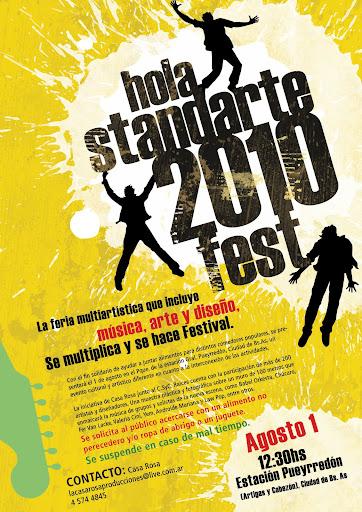 Festival HOLA STANDARTE