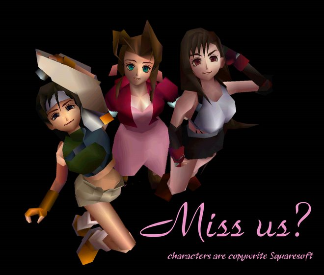 CHICAS FINAL FANTASY 7