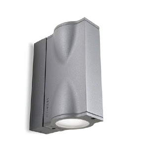 Soft Wall Spotlight Up and Down IP54 satin grey Spot Light