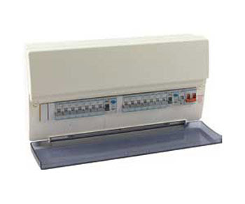 Hager Consumer Unit for home use - 18 Way Flexible Configurable Consumer Unit