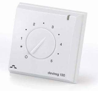 Devireg 130 Floor Controller With Floor Sensor