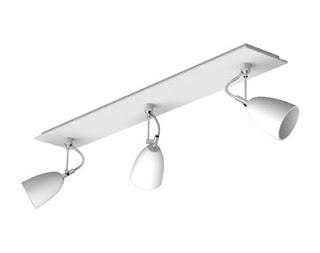Pavia Triple Bar spotlight, Three spotlight ceiling light