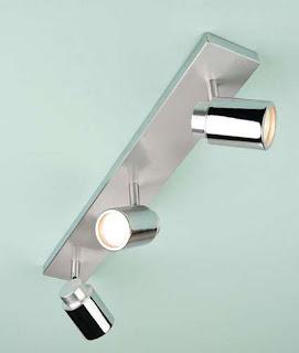 Kanita Triple Bar Spotlight, Bathroom Ceiling Light