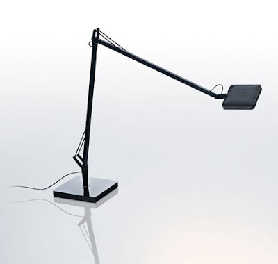 Flos Kelvin LED Table Lamp - the black version of this amazing fitting