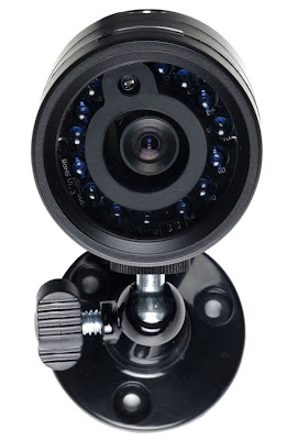 Front view of the DigiView CCTV Camera - day and night filming, part of the DigiPRO full kit of Digital CCTV system