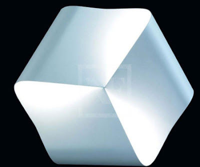 The Nemo Endless Wall Light, white metal wall lamp, G9 lamp with 3 x 60W - Nemo ENDHWW31
