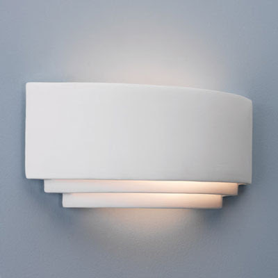 Astro 0423 - the Amalfi AX0423 Wall Light, IP20 ceramic wall mounted lamp