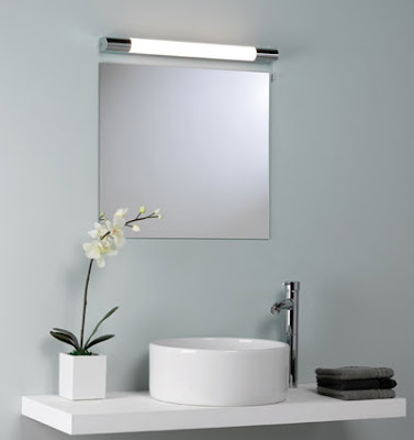 Astro 0346 - The Palermo 600 Bathroom Wall Light, switched above mirror AX0346 light