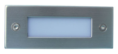 The BL40 Miniature LED Recessed Bricklight, white / blue LED light - only £6.00