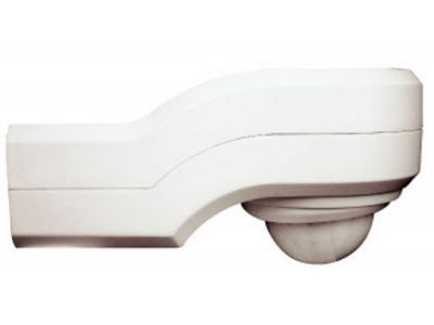 The EX360PIR PIR Detector - IP44 360degrees PIR, White Outdoor Stand Alone PIR