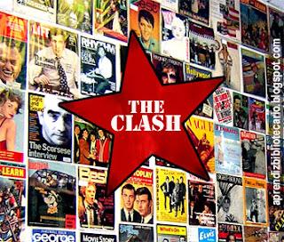 Pared con revistas disponibles en la Rock 'n' Roll Public Library