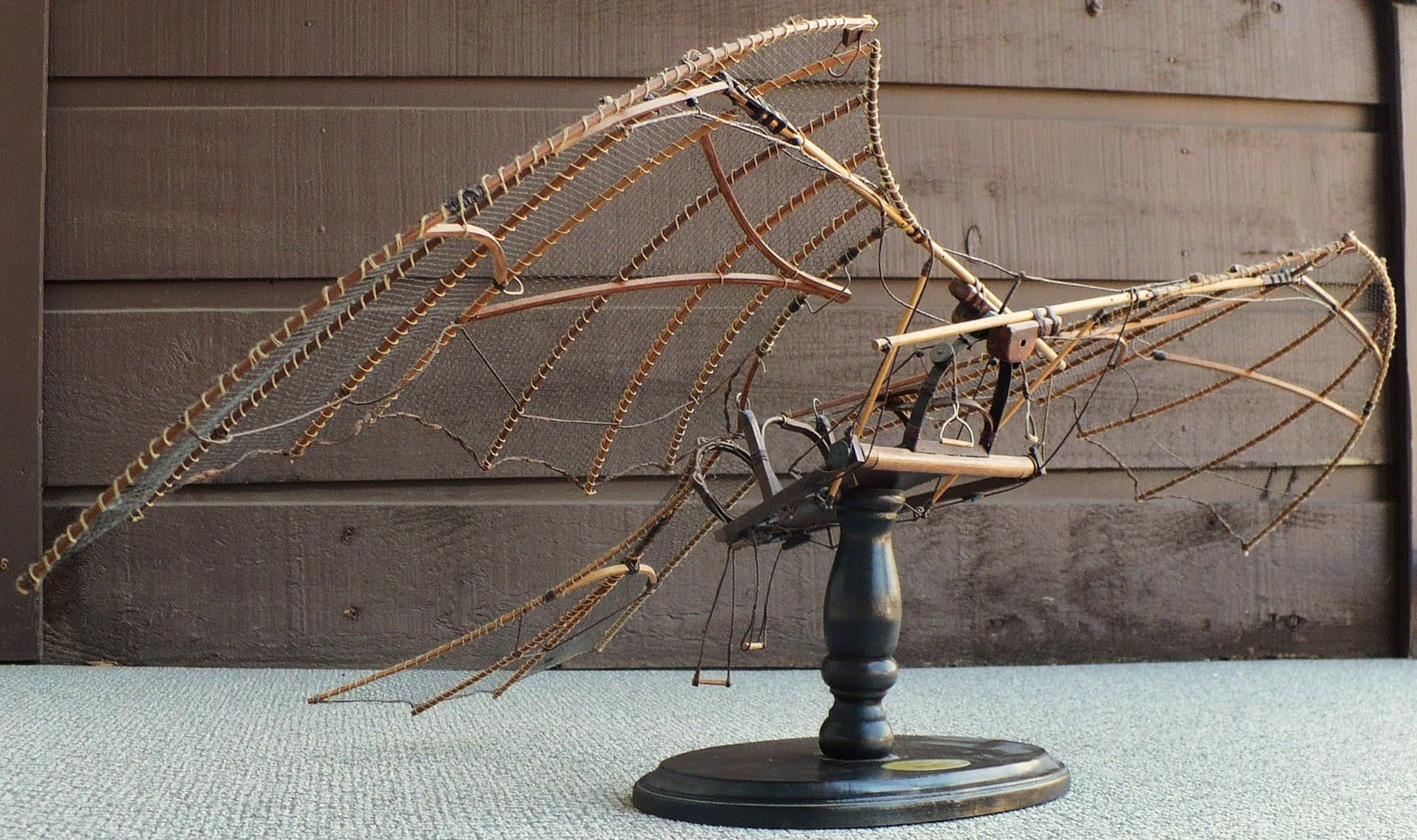davinci flying machine model