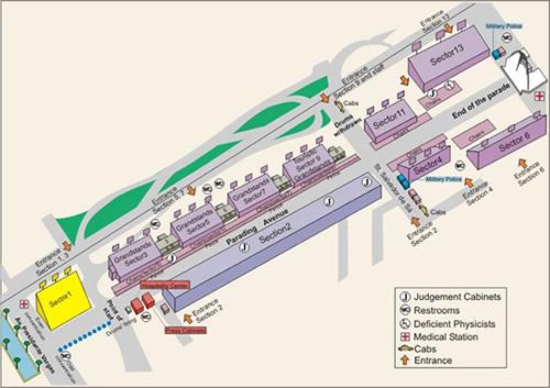 Mapa Sambodromo