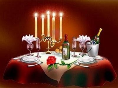 Cadeau d 39 anniversaire une soir e romantique comme cadeau for Diner romantique a la maison