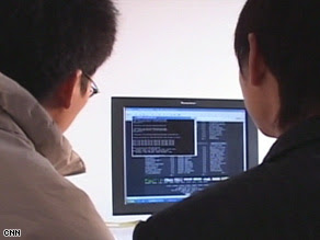 Les hackers chinois espionnent les pétrolières Hacker+chinois