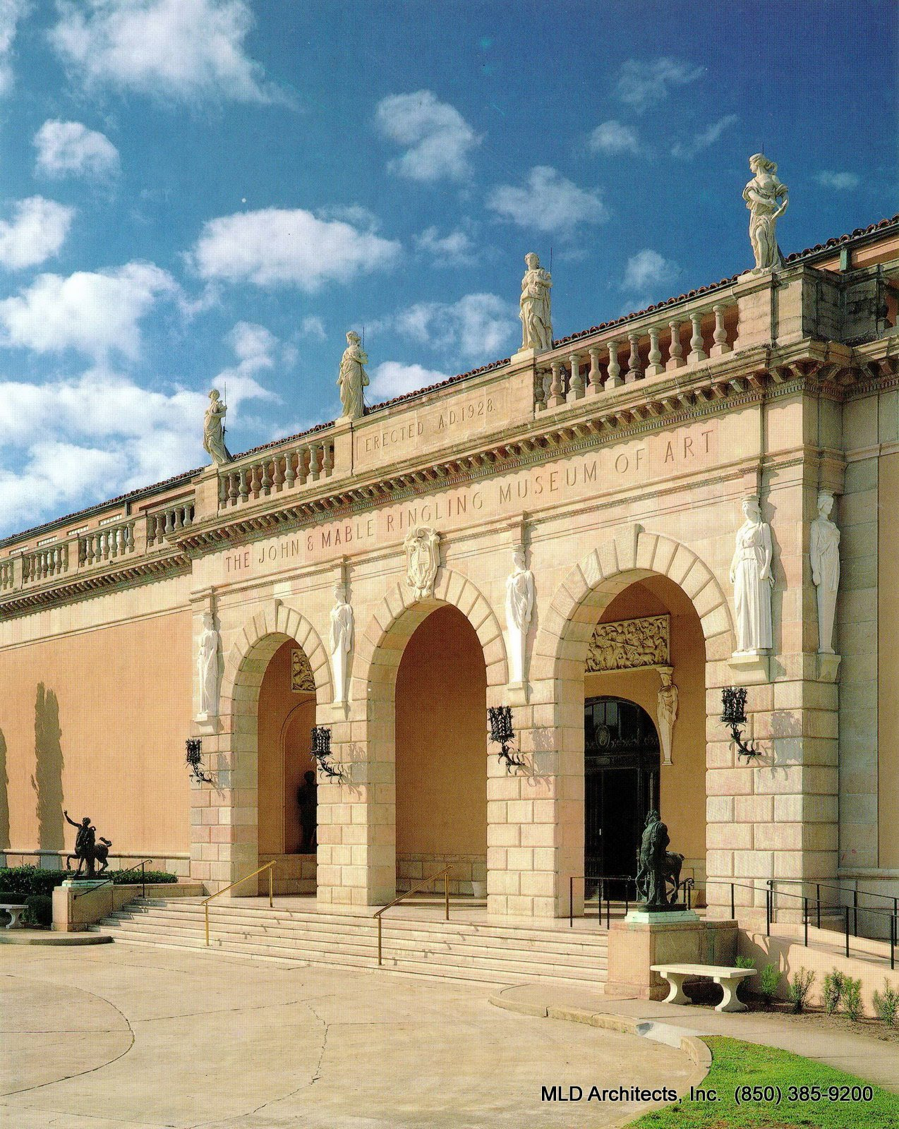 Mld Architects Inc John And Mable Ringling Museum