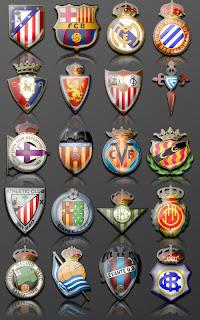 La Liga team icons