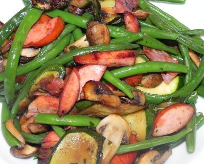 Warm Green Bean Salad