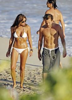 Rachel Uchitel in Sexy White Bikini