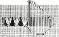 вышивание, вышивка, понятия и термины вышивания, мережка