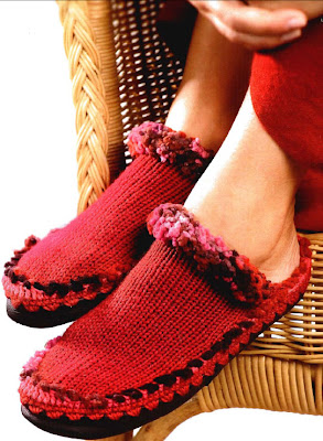 Обувь своими руками, Обувь, Вязаная обувь, Домашние тапочки